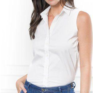 The Shirt Rochelle Behrens The Sleeveless Shirt XS
